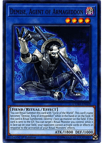 Demise, Agent of Armageddon - CYHO-EN028 - Common