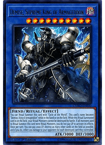 Demise, Supreme King of Armageddon - CYHO-EN030 - Rare