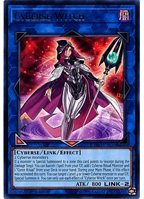 Cyberse Witch - CYHO-EN035 - Rare (español)