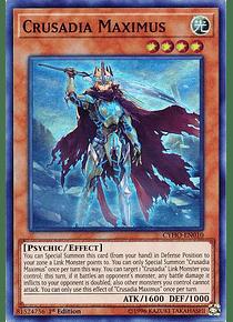 Crusadia Maximus - CYHO-EN010 - Super Rare