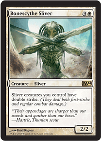Bonescythe Sliver (Duels of the Planeswalkers 2014) (Xbox)
