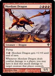 Mordant Dragon - WWK - R