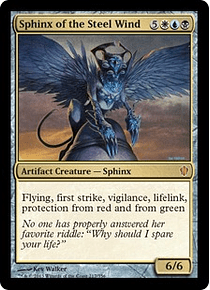 Sphinx of the Steel Wind - C13 - M
