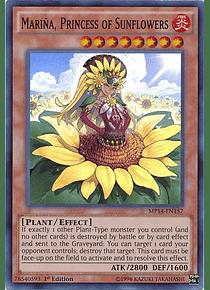 Marina, Princess of Sunflowers - MP14-EN157 - Super Rare