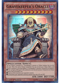 Gravekeeper's Oracle - MP14-EN215 - Ultra Rare