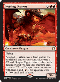 Nesting Dragon - C18 - R