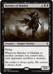 Butcher of Malakir - SVE - R