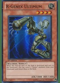 R-Genex Ultimum - HA03-EN047 - Super Rare