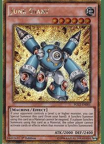 Junk Giant - PGL2-EN001 - Gold Secret Rare