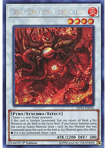 Old Entity Cthugua - SHVA-EN016 - Secret Rare