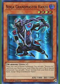 Ninja Grandmaster Hanzo - SHVA-EN022 - Super Rare