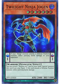 Twilight Ninja Jogen - SHVA-EN026 - Super Rare