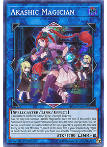 Akashic Magician - SHVA-EN052 - Super Rare