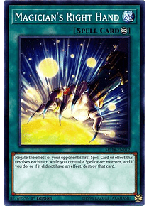 Magician's Right Hand - MP18-EN012 - Common