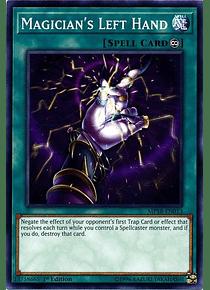 Magician's Left Hand - MP18-EN013 - Common