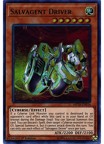 Salvagent Driver - MP18-EN034 - Ultra Rare
