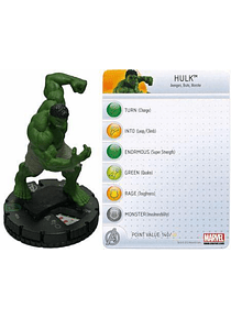 Hulk #014 Avengers Movie Marvel Heroclix (sin Tarjeta)