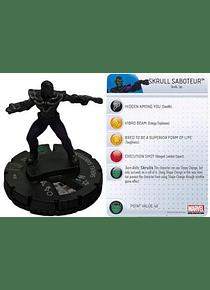 Skrull Saboteur #033 Avengers Movie Marvel Heroclix (sin tarjeta)