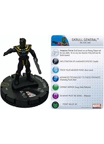Skrull General #032 Avengers Movie Marvel Heroclix (sin tarjeta)