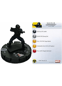 S.H.I.E.L.D. Commando #010 Avengers Movie Marvel Heroclix (sin tarjeta)