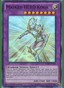Masked Hero Koga - SDHS-EN042 - Super Rare