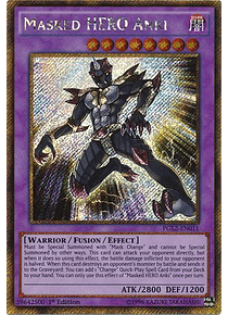 Masked Hero Anki - PGL2-EN011 - Gold Secret Rare  (Italiano)