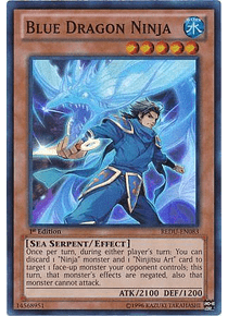 Blue Dragon Ninja - REDU-EN083 - Super Rare
