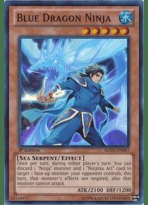 Blue Dragon Ninja - REDU-EN083 - Super Rare