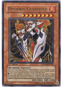 Phoenix Gearfried - SDWS-EN001 - Ultra Rare (desgaste orillas)