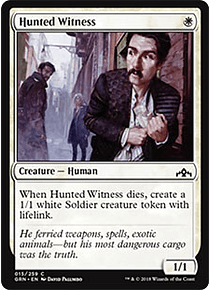 Hunted Witness - GRN - C