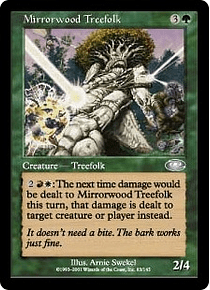 Mirrorwood Treefolk - PSF - U