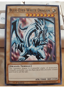 Blue-Eyes White Dragon - LED3-EN006 - Common