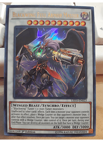 Blackwing Full Armor Master - LED3-EN023 - Ultra Rare