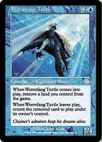 Wormfang Turtle - JGM - U