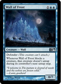 Wall of Frost - M10 - U