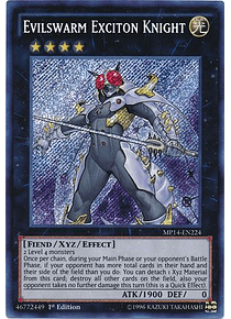 Evilswarm Exciton Knight - MP14-EN224 - Secret Rare