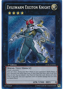 Evilswarm Exciton Knight - LVAL-EN056 - Secret Rare