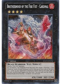 Brotherhood of the Fire Fist - Cardinal - LTGY-EN054 - Secret Rare (español)