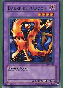 Darkfire Dragon - LOB-019 - Rare (español)
