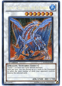 Gungnir, Dragon of the Ice Barrier - HA03-EN030 - Secret Rare
