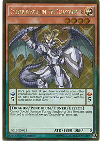 Luster Pendulum, the Dracoslayer - PGL3-EN055 - Gold Rare