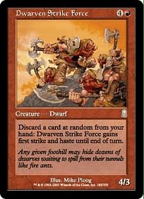Dwarven Strike Force - ODS - U