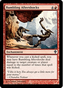 Rumbling Aftershocks - WWK - U
