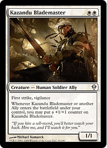 Kazandu Blademaster - ZDK - U