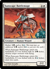 Sunscape Battlemage- PVC - U