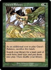 Gaea's Balance - APC - U