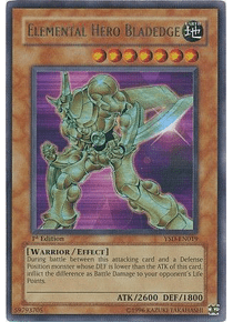 Elemental Hero Bladedge - YSD-EN019 - Ultra Rare