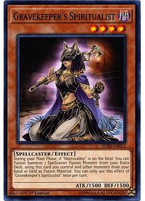 Gravekeeeper's Spiritualist - SOFU-EN013 - Common