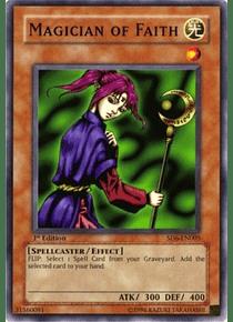 Magician of Faith - SD6-EN005 - Common