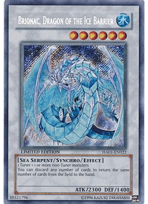 Brionac, Dragon of the Ice Barrier - HA01-EN022 - Secret Rare